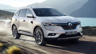 renault koleos, brand's first d-segment suv, revealed in beijing