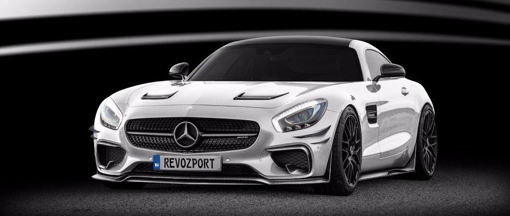 RevoZport Mercedes-AMG GTS-RZ front view