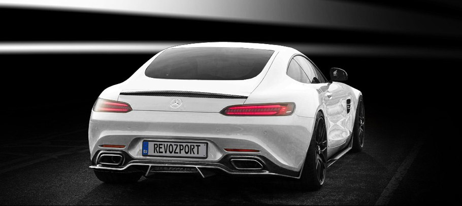 RevoZport Mercedes-AMG GTS-RZ rear view