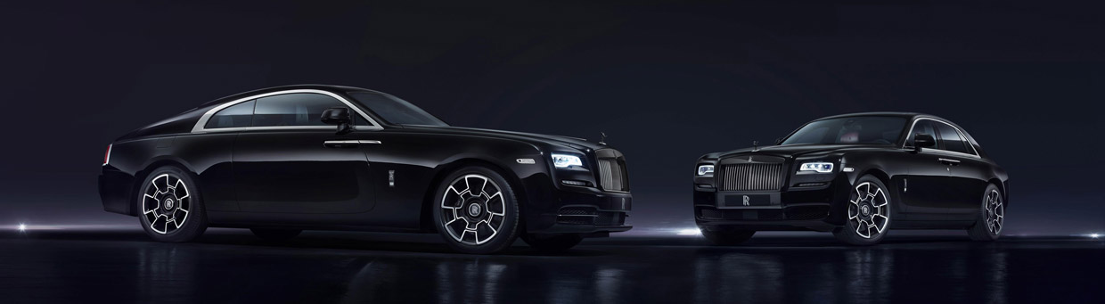 Rolls-Royce Black Badge front view