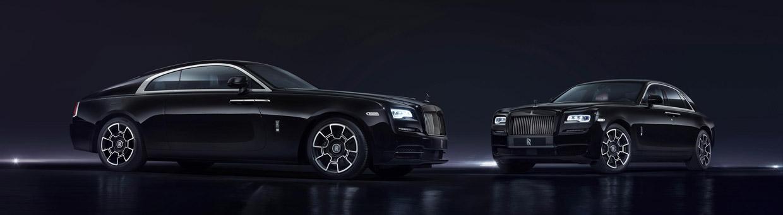 Rolls-Royce Black Badge front view