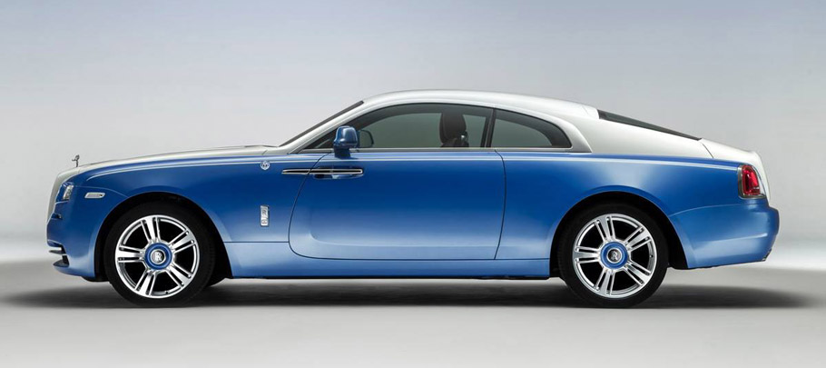 Rolls-Royce Nautical Wraith Side view