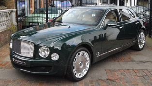 her majesty's royal bentley goes on sale! here are more details