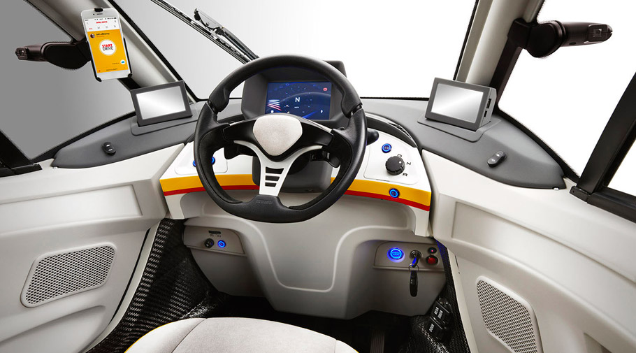 Shell Concept Car interior