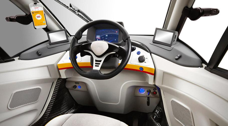 Shell Concept Car interior