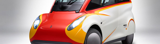 Is this the Car of the Future? Shell Previews Innovative Concept Vehicle [w/video]