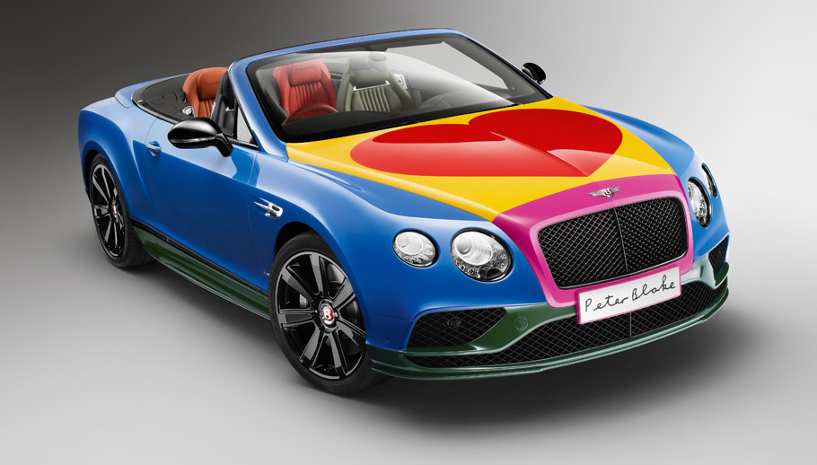 2016 Sir Peter Blake Pop Art Bentley