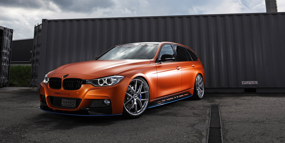 Tuningsuche BMW 328i Touring F31 Front view