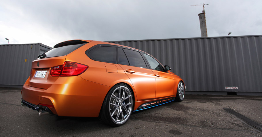 Tuningsuche BMW 328i Touring F31 Rear and Side View