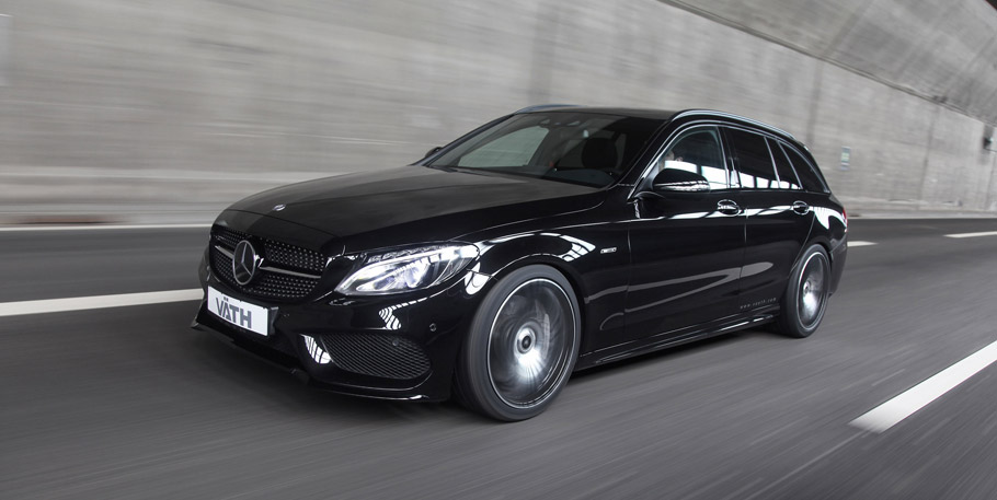 VATH Mercedes-Benz C450 AMG 4MATIC front view