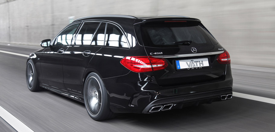 VATH Mercedes-Benz C450 AMG 4MATIC rear view