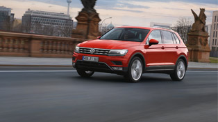 volkswagen showcases the fresh and muscular tiguan!