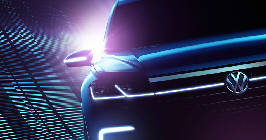 VW Beijing Concept SUV front view
