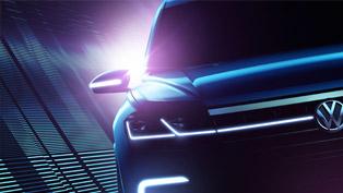 Volkswagen Teases Hybrid SUV Concept Ahead of Premiere in Beijing