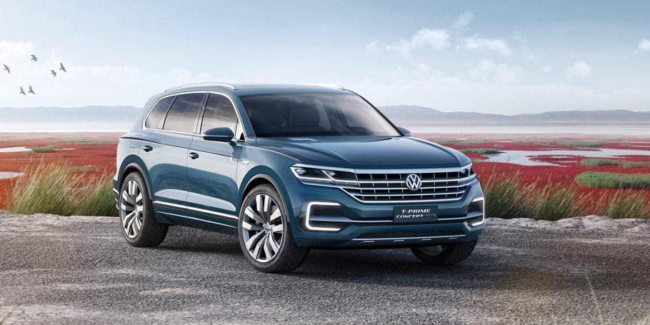 Volkswagen T-Prime Concept GTE front view