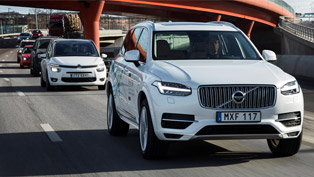 volvo is about to launch an ambitious autonomous drive campaign. here are some details