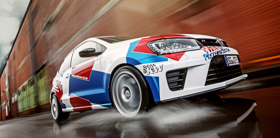 WIMMER RS Volkswagen Polo WRC front view