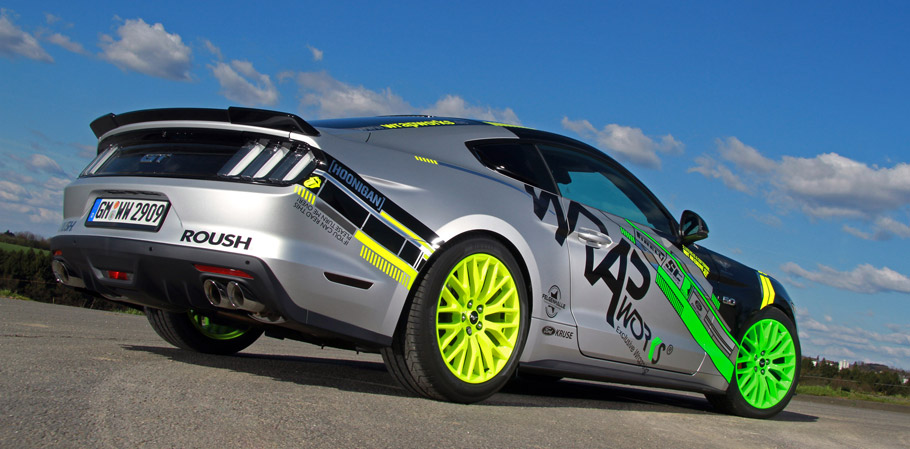 WRAPworks Ford Mustang GT Rear view