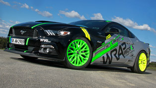 WRAPworks creates new outfit for the Mustang GT Fastback