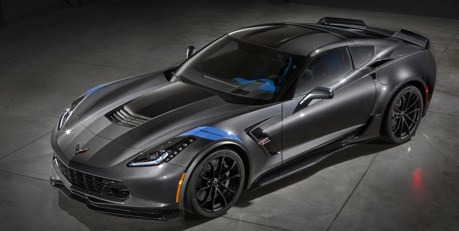 2017 Chevrolet Corvette Grand Sport Collector's Edition Front View