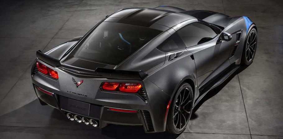 2017 Chevrolet Corvette Grand Sport Collector's Edition Rear view