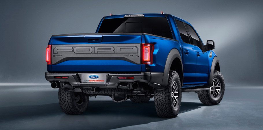 Ford F-150 Raptor SuperCrew Rear View