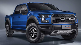 Beijing Shows Big Interest in Ford F-150 Raptor SuperCrew