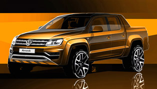 Volkswagen Shows First Looks of the Upcoming Amarok