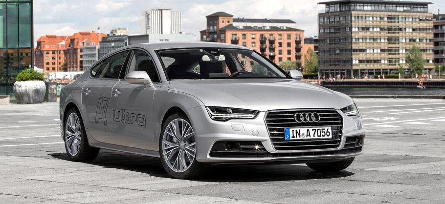 Audi A7 Sportback Front View