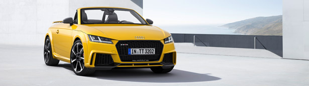 Powerful and Agile, Audi TT RS Roadster Shows How A Fine Vehicle Should Look Like