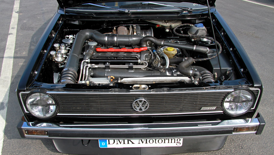 BBM Motorsport Volkswagen Golf 1 Engine