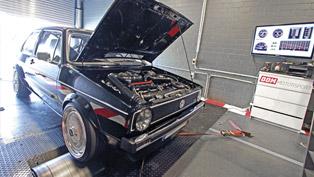 bbm motorsport releases video of 815 hp volkswagen golf gen one during dyno testing
