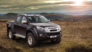 isuzu team showcases the latest and greatest d-max at35 pickup lineup