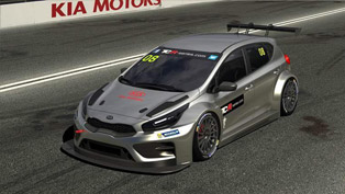 Kia cee'd TCR Racer: First Official Images Revealed