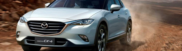 Mazda CX-4 Crossover SUV Finally Revealed in Beijing