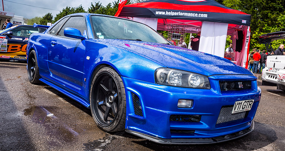 Nissan Skyline Front View