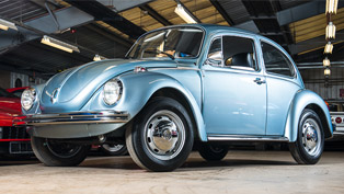 Barely touched and barely driven 1974 Volkswagen Beetle seeks its new owner!