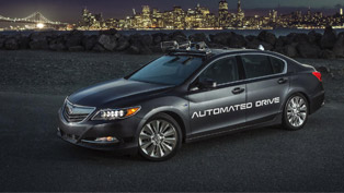 acura team reveals a second-gen of automated vehicle. details here!