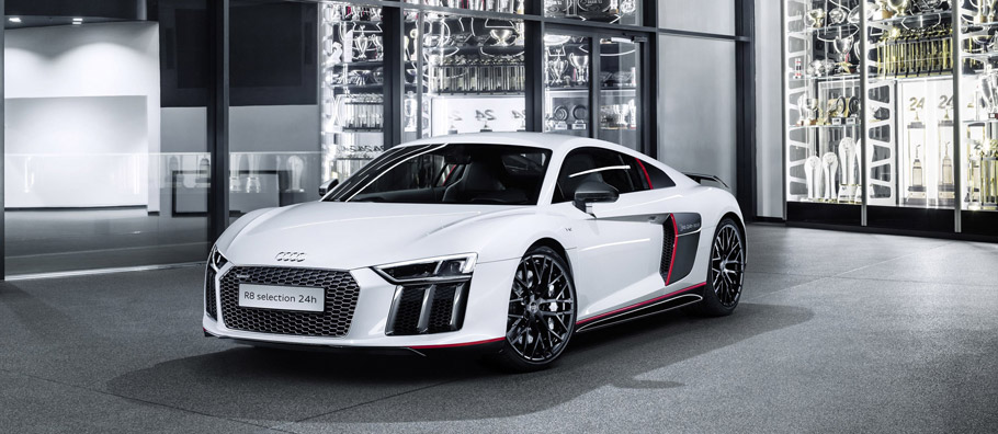 2016 Audi R8 V10 plus selection 24h front view