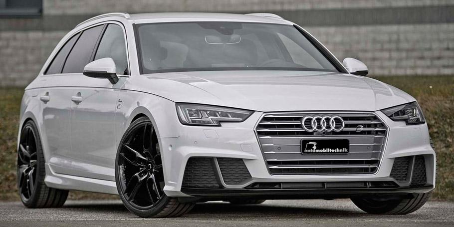 B&B Automobiltechnik Audi A4 8W B9 front view