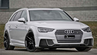 what happens when 272hp aren't enough? meet the powerful b&b audi a4