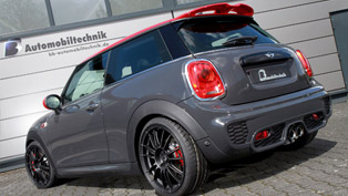 why this mini john cooper works has nothing to do with a regular one?