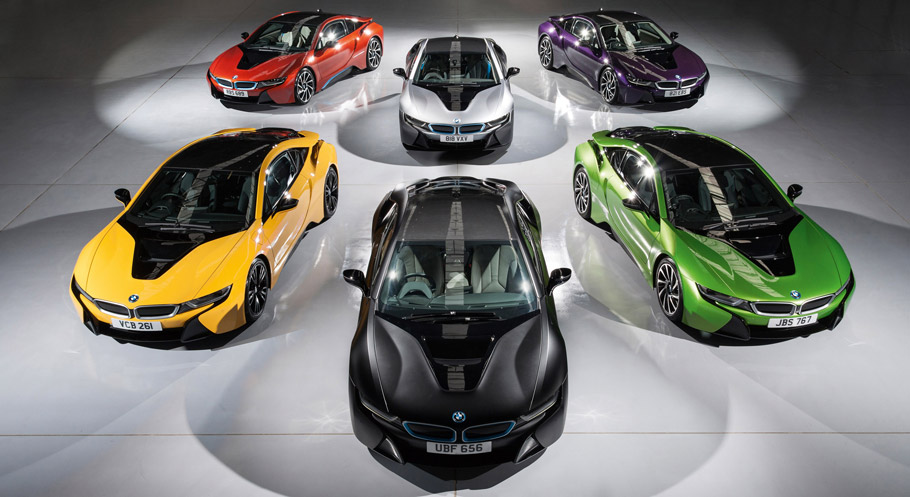 BMW Individual i8 Exterior Paint Programme front view