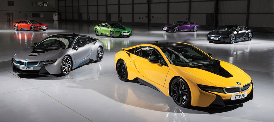 BMW Individual i8 Exterior Paint Programme  side view