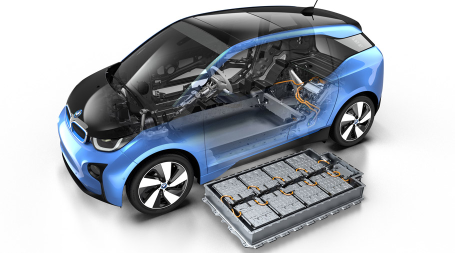 BMW i3 the new 94 Ah battery