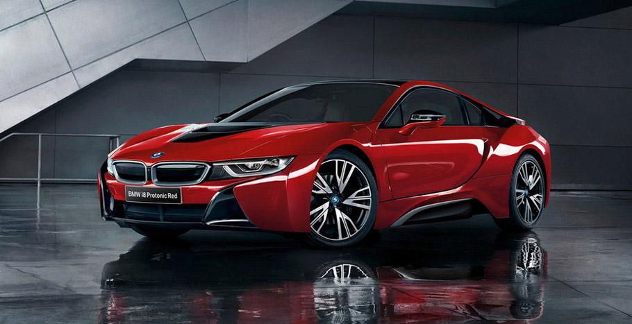 BMW i8 Celebration Edition side view