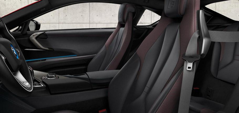 BMW i8 Celebration Edition interior