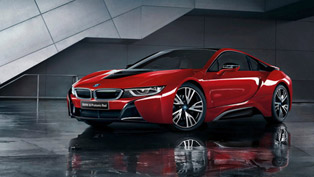BMW shows how to make a contemporary car truly rare with the i8 Celebration Edition