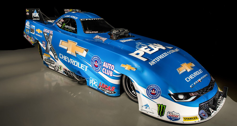 2016 Chevrolet Camaro Funny Car side view