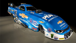 chevrolet camaro funny car is back to deliver more downforce than ever!